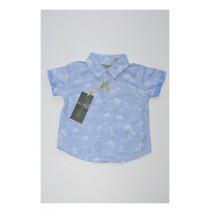 Deals - Baby boys blouse combo 2 vista blue (4 pcs)
