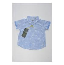 Deals - Baby boys blouse combo 2 vista blue (4 pcs)