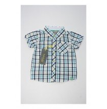 Baby boys blouse combo 2 vista blue (4 pcs)