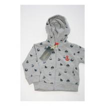 Riviera baby boys cardigan sweater combo 2 grey melange (4 pcs)