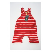 Baby boys overall combo 3 racing red (4 pcs)