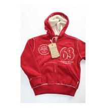 Teen boys cardigan sweat rio red (4 pcs)