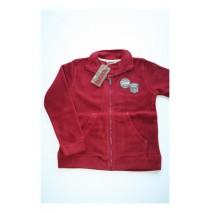 Miners International fleece cardigan warm red (5 pcs)