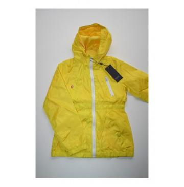 Teen girls jacket bright yellow (4 pcs)