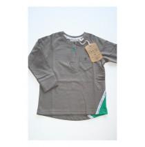 Small boys shirt plum kitten (4 pcs)