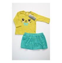 Deals - Main street set shirt + skirt  lagoon (4 pcs)