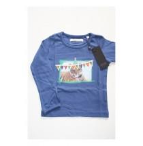 Small girls shirt blue iris (4 pcs)