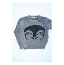 Small girls pullover plum kitten (4 pcs)