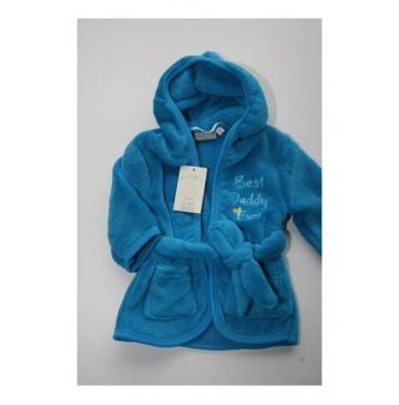 Picco Mini Best Daddy ever badjas methyl blue 6+12 mnd (2 pcs)