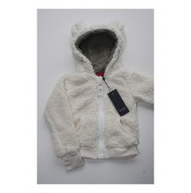 Basic girls cardigan sweat marshmallow (4 pcs)
