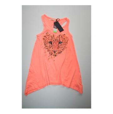 Deals - Eden shirt fluo pastel peach (2 pcs)