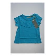 Baby girls shirt vivd blue (4 pcs)