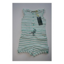Baby girls overall pool blue (4 pcs)