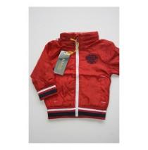 Baby boys summer jacket ribbon red (4 pcs)