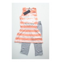 Clarity singlet+legging peach (4 pcs)