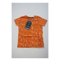 Deals - Soft Fiction t-shirt Combo 2 orange ochre (4 pcs)