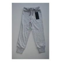 Small girls joggingpant ight grey melange (4 pcs)