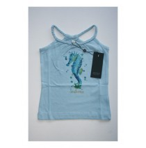 Deals - Soft Fiction singlet Combo 3 powder blue (4 pcs)
