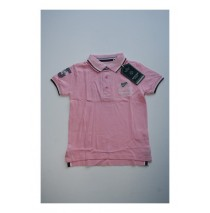 Teen boys poloshirt candy pink (4 pcs)