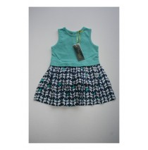 Deals - Soft Fiction dress Combo 2 pool blue (4 pcs)