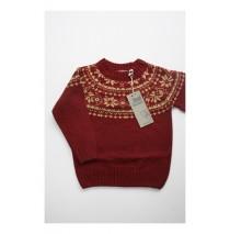 Small boys pullover burgundy (4 pcs)