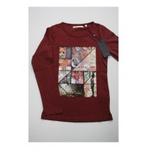 Deals - Artisan shirt Combo 2 burgundy (4 pcs)