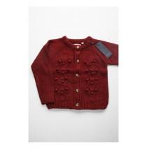 Artisan cardigan Combo 2 burgundy (4 pcs)