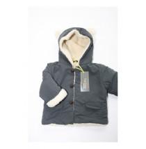 Baby girls jacket asphalt (4 pcs)
