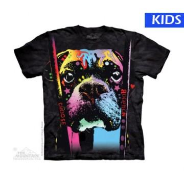 Boxer Choose Adoption Small Child T Shirt (4 pcs)
