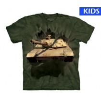 M1 Abrams Tank Child Small Military T Shirt (3 pcs)