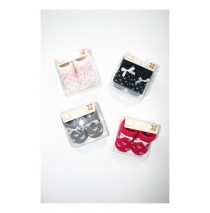 Baby socks Giftbox Hearts Dots Bow (8 pair)