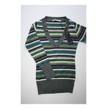 Deals - Mixed worlds striped pull green  (4 pcs)
