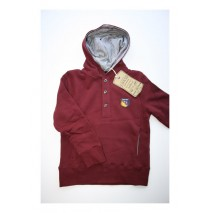 Aristocrate hooded sweatshirt windsor wine (4 pcs)