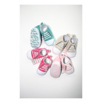 Babygirl sneaker shoe 4 colors (12 pair)