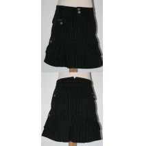 Taboos striped skirt black (5 pcs)