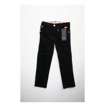 Small girls corduroy pant black (4 pcs)