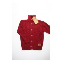 Just cardigan wine red (4 pcs)