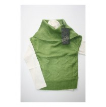 Back to my roots souspull + pull green/offwhite (5 pcs)